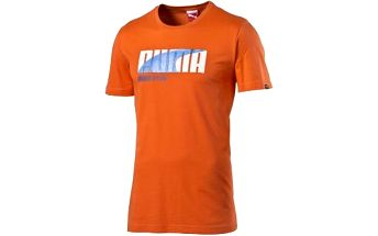 Pánské triko FUN INJ GRAPHIC TEE oranžová