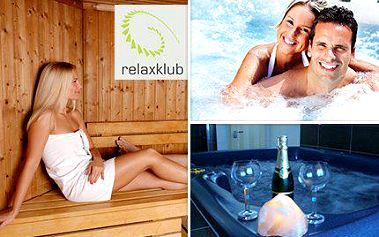 Wellness program v Relaxklubu s nocí v luxusním pokoji