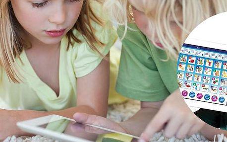 Dětský tablet pro výuku angličtiny