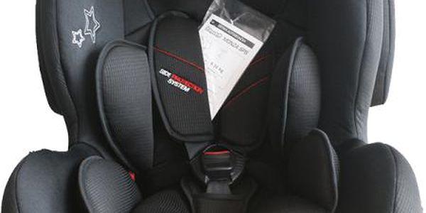 Autosedačka Monza Prime 9-36 kg - černá