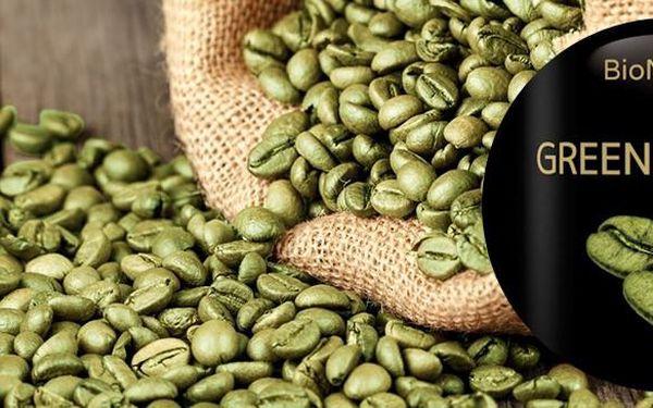Green Coffee Bean extrakt 90tbl na hubnutí a detoxikaci organismu
