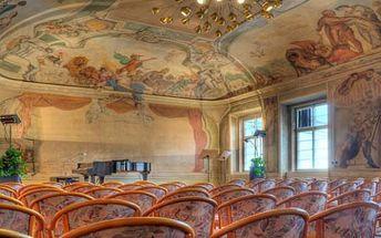 ROMANTICKÝ KONCERT 19.5.2015 freskový sál v malostranském paláci MOZART-CHOPIN-PAGANINI-SAMMARTINI