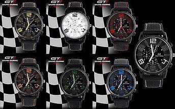 Sportovní pánské hodinky Grand Touring v sedmi barevných variantách!