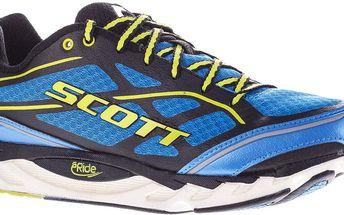 Pánská běžecká obuv ERide AF Support 2.0 modré/zelené, modrá