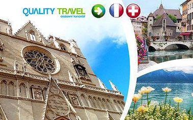 Za krásami střední Francie a Švýcarska