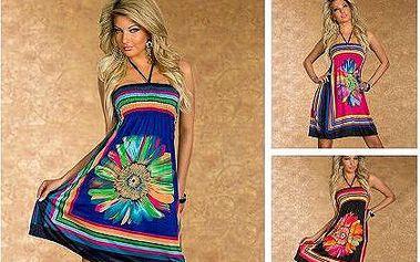 Trendy šaty s květinovým vzorem