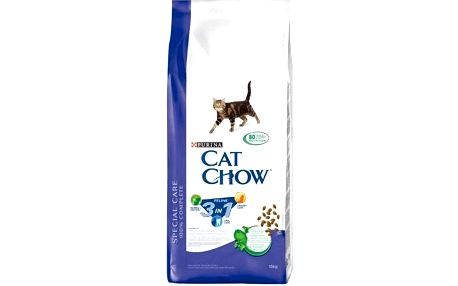 Purina Cat Chow Special Care 3v1 15 kg + Doprava zdarma