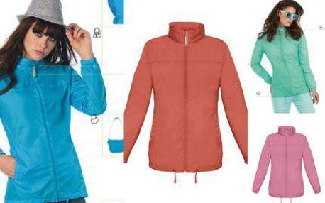 Dámská šusťáková bunda v krásných jarních barvách