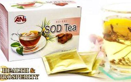 Čaj s REISHI - s BOŽSKOU houbou NESMRTELNOSTI. Vyzkoušejte elixír života s vitamíny a antioxidanty.