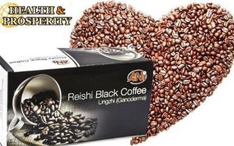 Káva s REISHI - s BOŽSKOU houbou NESMRTELNOSTI. Vyzkoušejte elixír života s vitamíny a antioxidanty.