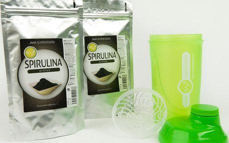 2ks Spirulina 200g + Shaker