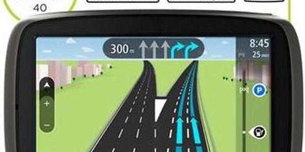 """Automobilová GPS navigace TOMTOM START 60 Europe LIFETIME s velkým 6"""" dotykovým displejem"""