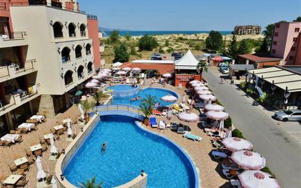 Bulharsko, oblast Slunečné Pobřeží, doprava letecky, polopenze, ubytování v 4* hotelu na 12 dní