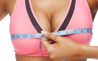 Bezbolestné a neinvazivní zvětšení prsou Breast Lifting Plus