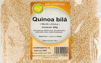 AWA superfoods Quinoa bílá 500g