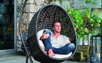 Luxusně pohodlné závěsné křeslo TAHITI 2