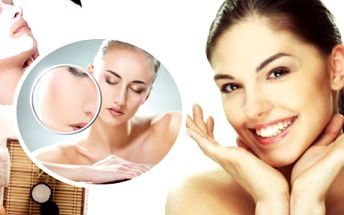 Čištění pleti, peeling, barvení obočí, pleťová maska, masáž obličeje, krku a dekoltu v délce 60 min.