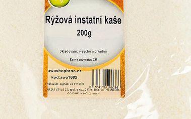 Rýžová instatní kaše 200g AWA superfoods