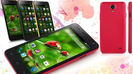 "Nadupaný 4,5"" smartphone B-Techs Star W330 s Androidem"