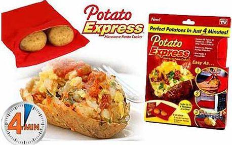 Sáček Potato Express v akci