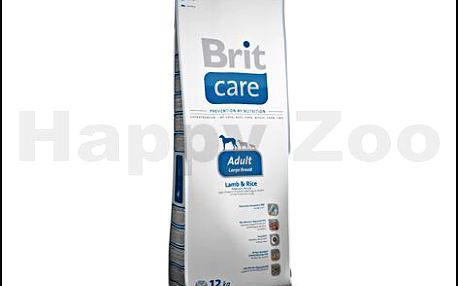 BRIT CARE Adult Large Breed 12kg krmivo pro psy