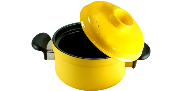 Kameninový rendlík Casserole Design Yellow, 1,6 l