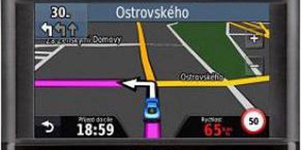 Praktická GPS navigace s doživotní bezplatnou aktualizací map GARMIN Nüvi 44 Lifetime Europe 45 - 010-01114-26