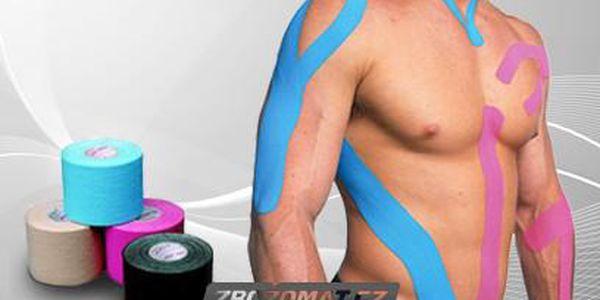 Tejpovací pásky Kinesio - okamžitá úleva od bolesti!