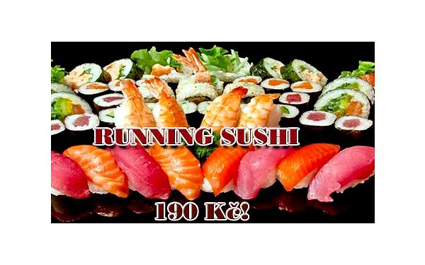 RUNNING SUSHI All you can eat v centru Prahy u náměstí Republiky! Vybírejte z široké nabídky čerstvého sushi a teplých i studených asijských specialit na dvou jezdících pásech!!