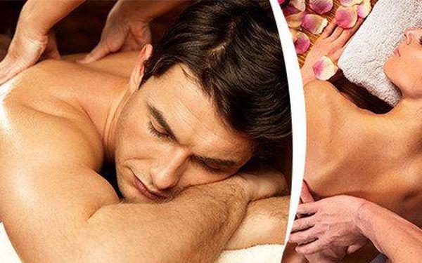 Klasická švédská masáž - záda, šíje, horní a dolní končetiny