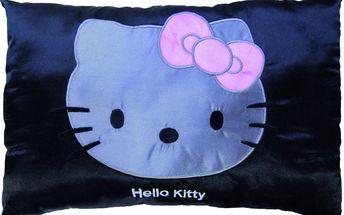 Saténový polštářek Hello Kitty Rosa