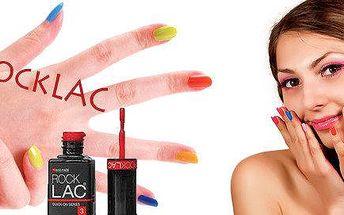 Nechejte své nehty rozzářit barvami RockLAC - hlavní roli hraje jas a lesk