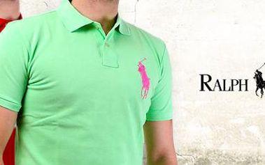 Značkové pánské polo triko Ralph Lauren: vsaďte na klasiku!
