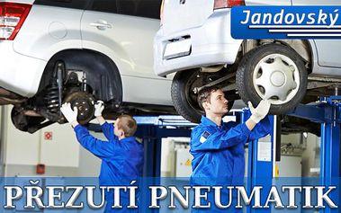 PŘEHOZENÍ KOL či PŘEZUTÍ PNEU na počkání včetně vyvážení pneu! Připravte se na léto včas a užívejte si pohodlnou jízdu bez starostí! Profesionální autoservis Auto Moto Jandovský na Praze 9!!
