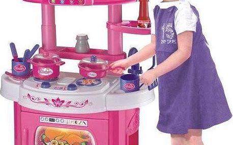 KidsHome Kuchyňka se zvuky a světlem (02068)