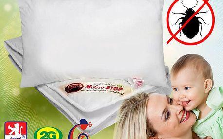 Protiroztočová ložní souprava MicroSTOP pro miminka
