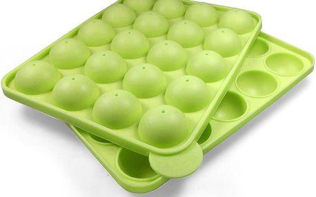 Silikonová pečící forma na cake pops Green