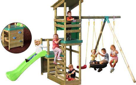 Little Tikes 171802 - Dřevěné dětské hřiště Buckingham