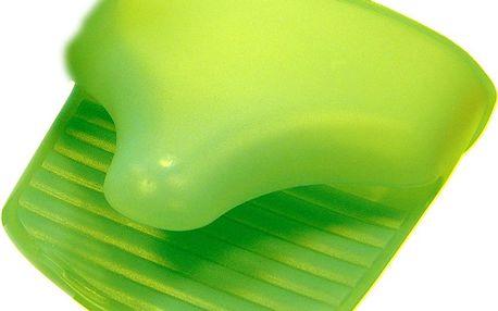 Silikonová rukavice Garnet Green