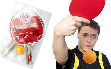 Set Oliver na stolní tenis – dvě pálky a tři míčky