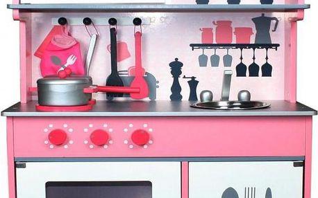 KidsHome Dětská kuchyňka s příslušenstvím 100 cm (02051)