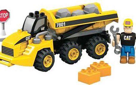 MEGABLOKS 7801 - Truck CAT pro převoz kamene
