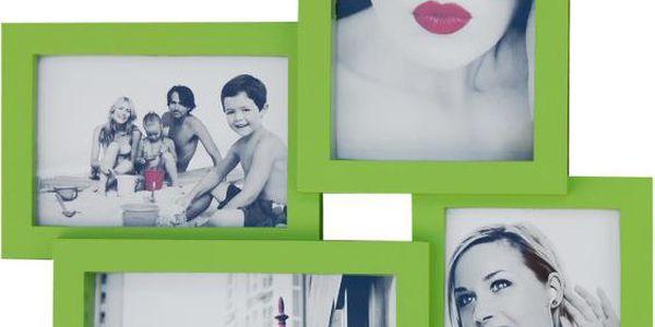 Nástěnný multi-fotorámeček na Vaše oblíbené 4 fotografie!