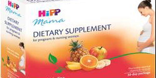 HIPP MAMA Doplněk výživy pro těhotné a kojící ženy (3x200 ml)