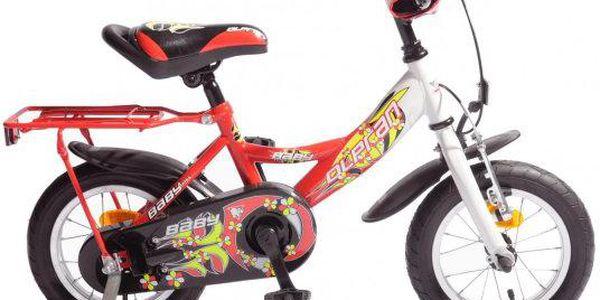 """Dětské kolo Olpran Baby Extra 12"""" vhodné pro jízdu na zpevněných cestách"""