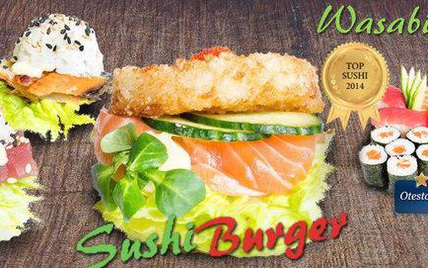 Sushi sety, degu menu i novinka – sushi burgery!