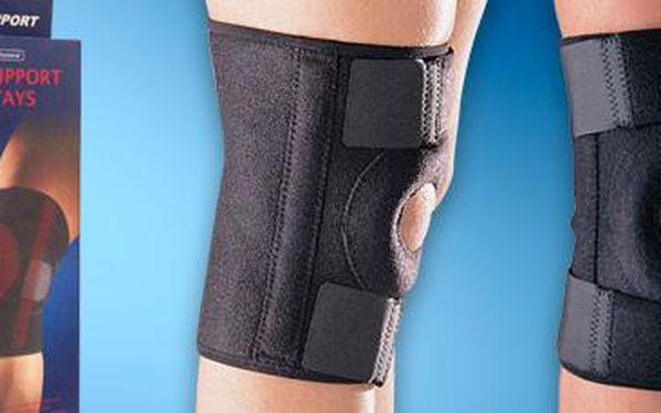 Neoprenová ortéza na koleno: Podpora pro slabá a namožená kolena.