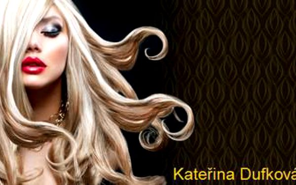 MELÍR a STŘIH od nejlepší kadeřnice Kateřiny Dufkové. VIP péče, ze které budete NADŠENÁ.