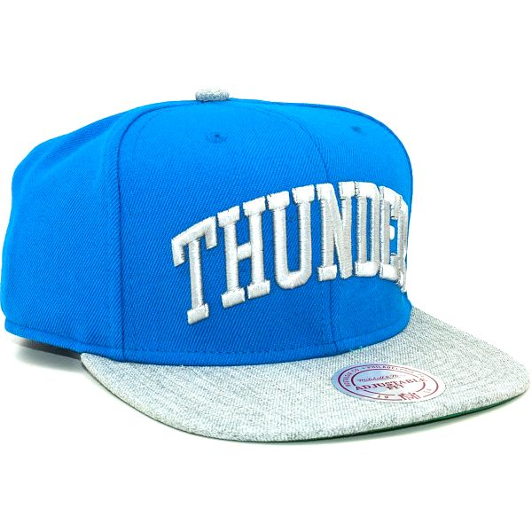 Kšiltovka Mitchell & Ness TC Top Oklahoma City Thunder Blue Snapback