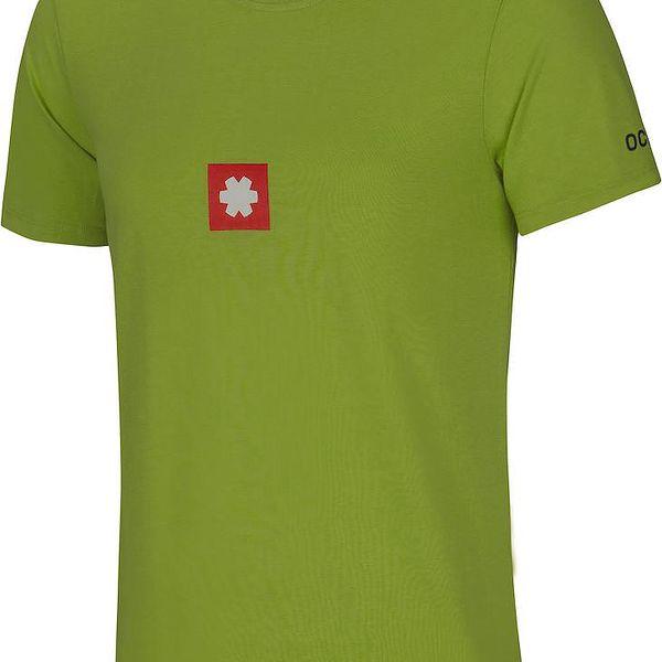 Lehké triko na volný čas s logem Ocun Logo Tee pond green